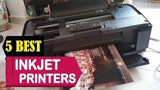 5 Best Inkjet Printers 2018 | Best Inkjet Printers Reviews | Top 5 Inkjet Printers