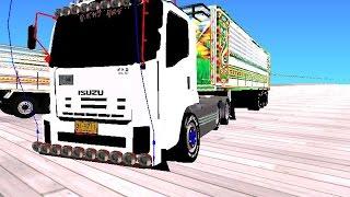 Repeat youtube video Gta san mod รถพ่วงไทย ปรับ720pด้วย