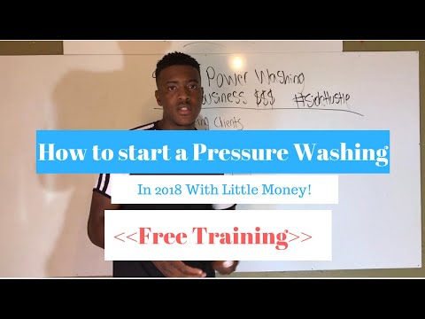 How To Start A Pressure Washing Business In 2019 | Low-Cost Method! |