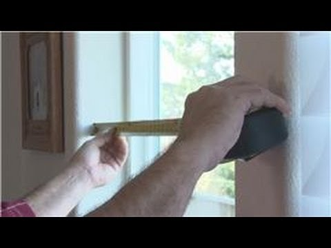 Window Blinds : How to Measure Wood Blinds