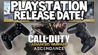 ASCENDANCE RELEASE DATE for PLAYSTATION 3 & 4 - Advanced Warfare Zombies Map Packs (DLC 2 PS4 PS3)