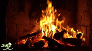 Instrumental Christmas Music with Fireplace 24/7 • Merry Christmas!