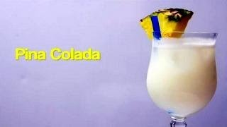 How To Make a Piña Colada