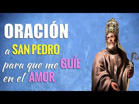 🙏 Oración a San Pedro para GUIARME POR EL CAMINO del Amor ❤️