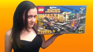 LEGO 6864 Batmobile and the Two-Face Chase Batman LEGO DC Universe Super Heroes Review