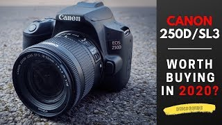 Canon EOS 250d - Worth Buying In 2020?
