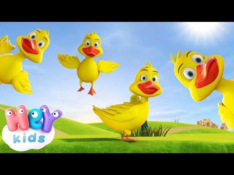 Kaczuszki piosenka  HeyKids - Piosenki dla dzieci mix