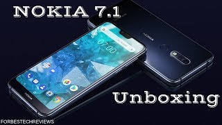 Nokia 7.1 Unboxing & First Impressions
