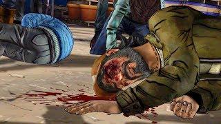 Carver Beats Kenny. Clementine Gets Beaten by Troy (Walking Dead | Telltale Games)