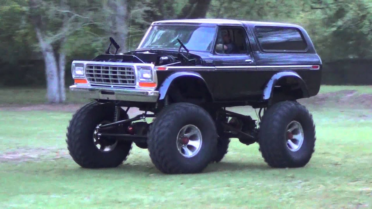 "Lifted 1979 Ford Bronco >> ""79"" Ford Bronco - YouTube"