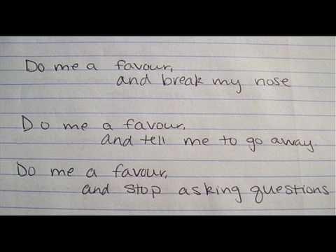 Do Me A Favour - Arctic Monkeys