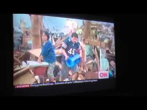 Andrew Stevens talks abour his experience in Tacloban