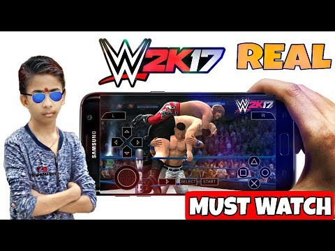 HOW TO DOWNLOAD WWE 2K17 ISO GAMES FOR PPSSPP ANDROID WITH PROOF ! - 동영상