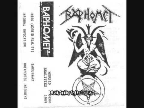 Baphomet - Morbid Realities [Full Demo '89]