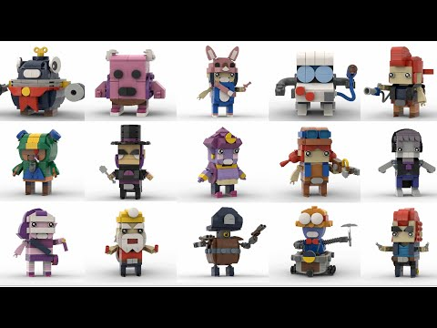 LEGO® And Brawl Stars [Part 1] - BMD MOC
