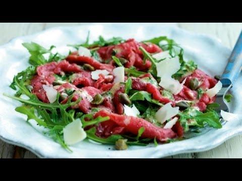 Как готовят блюдо Карпаччо | Світ на смак