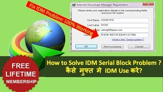 Download lagu How to Activate IDM for Lifetime for Free- 2019 || Fake Serial Number Problem