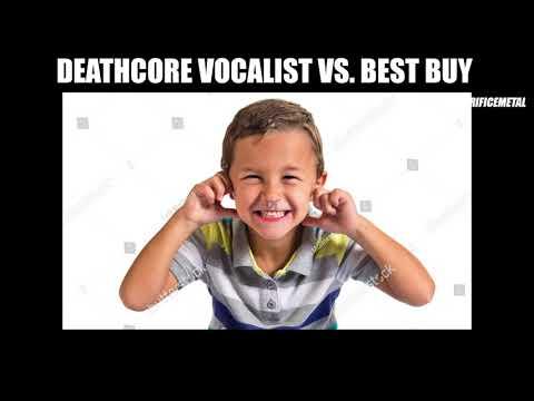 DEATHCORE VOCALIST VS. BEST BUY *not clickbait*
