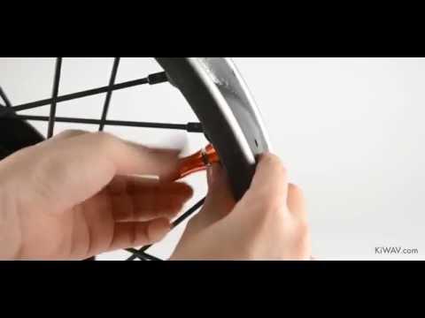 KiWAV - Motorcycle Dirt Bike Rim Alloy Lock 1.85