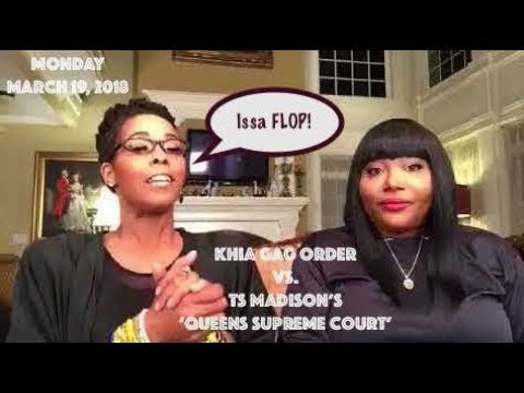 ATLien Live!! 'We The People' Feel Khia's GAG ORDER Won over TS Madison's The Queens Supreme Court