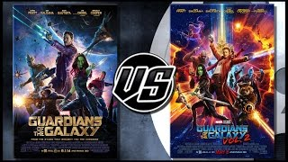 Guardians of the Galaxy VS Guardians of the Galaxy Vol 2