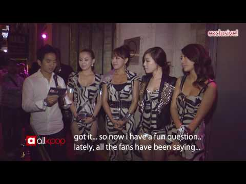 Brown Eyed Girls Interview at Circle Nightclub [09.25.2009]