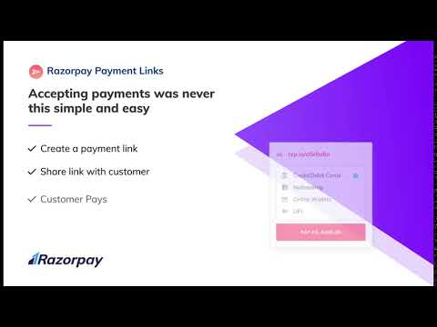 Razorpay Payment Links – Accepting Online Payments is now Just a