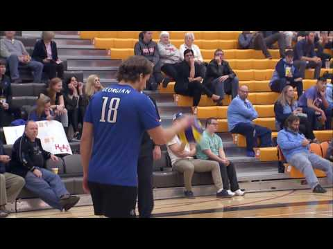 OCAA Men's Volleyball Championship - Game 3 - Humber vs Geor