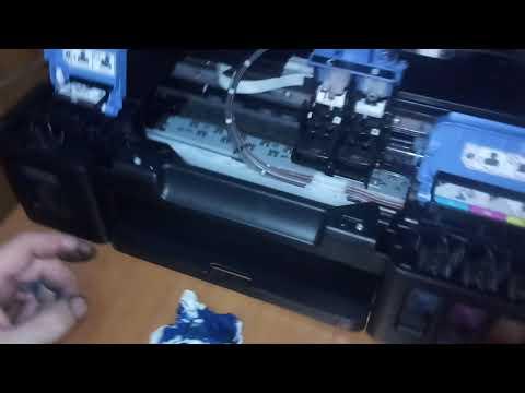 Лекции из мастерской: Прочистка картриджа и прокачка СНПЧ Canon G3400