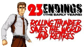 Ending: Rolling Thunder 2 Saves the World and Retires - Defunct Games