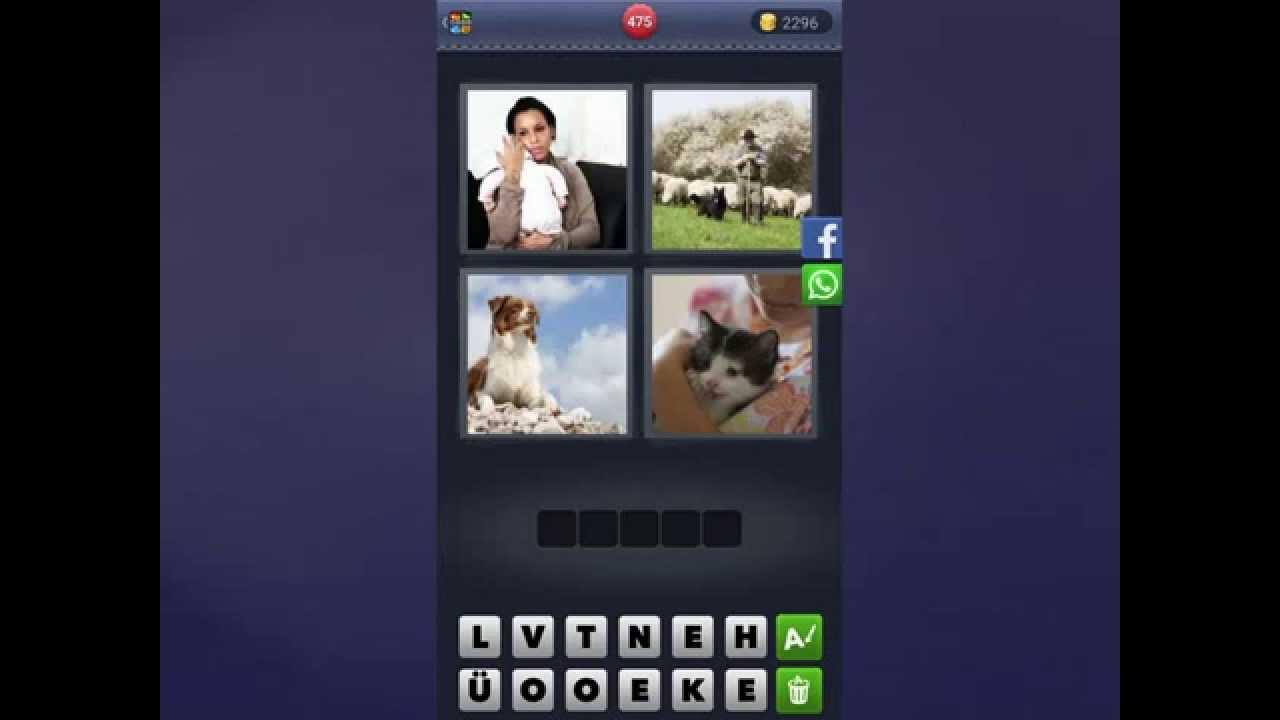 4 Bilder 1 Wort Lösung [Frau, Hirte, Hund, Katze] - YouTube