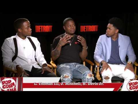 Leon Thomas III, Jason Mitchell, Nathan Davis Jr. | Detroit Junket