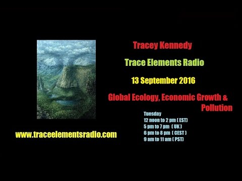 Tracey Kennedy - Global Ecology, Economic Growth & Pollution - 13 Sept 2016