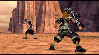 Kingdom Hearts Birth By Sleep Ventus vs Vanitas Lingering Spirit/Remnant NO DAMAGE [CRITICAL]