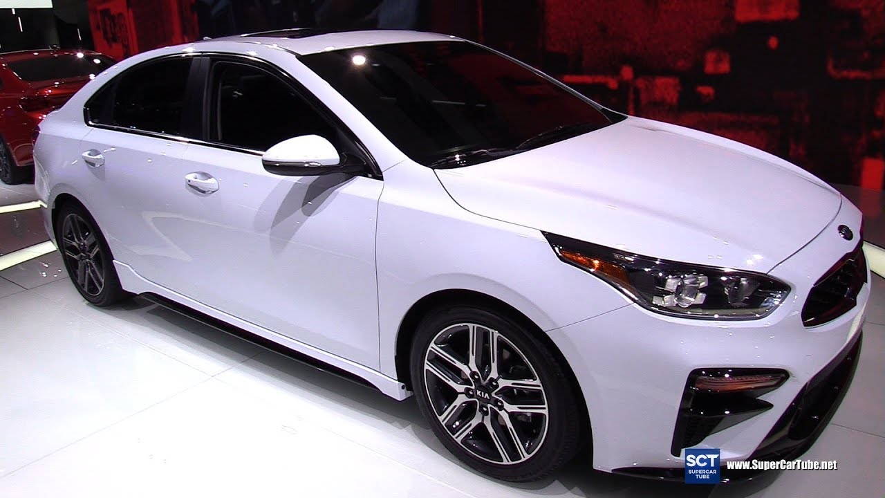 2019 Kia Forte Ex Exterior And Interior Walkaround 2018 Detroit