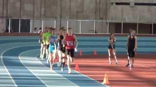 Чемпионат Москвы 1500м (муж) сильнейший забег