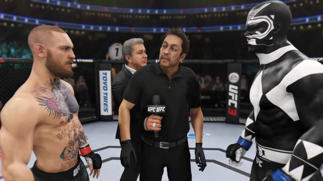 Conor McGregor vs. Black Ranger (EA sports UFC 3)