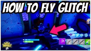 NEW HOW TO FLY GLITCH in FORTNITE BATTLE ROYALE! FORTNITE HOW TO FLY GLITCH!
