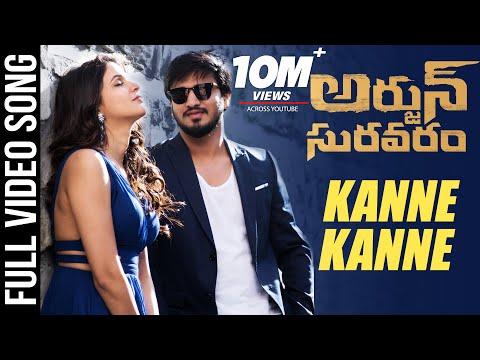 Kanne Kanne Full video Song - Arjun Suravaram - Nikhil, Lavanya | T Santhosh | Sam C S