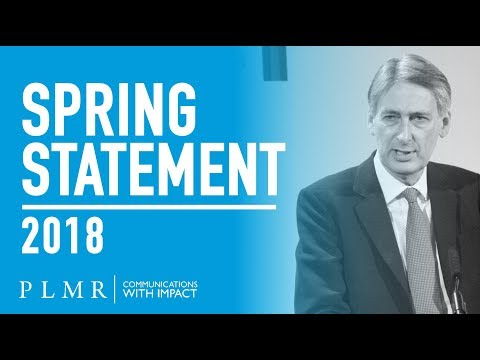 PLMR Spring Statement Analysis 2018
