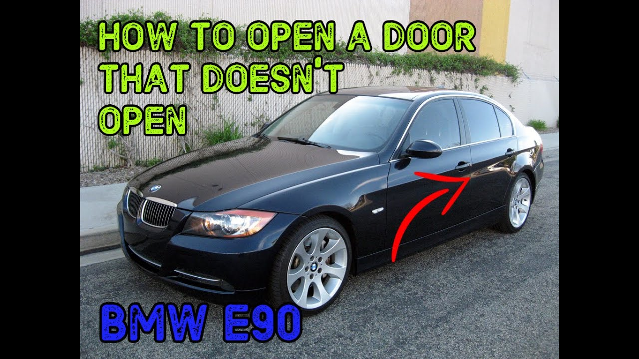 Tutorial Bmw E39 Door Will Not Open From Outside Or Inside How To Take Off Door Panel Youtube