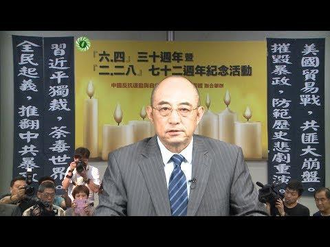 千枫福台 「六四」三十周年抗暴全民起义_袁红冰大结论