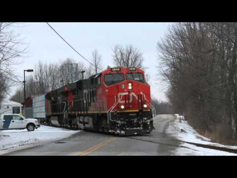 An Epic Day of Railfanning in New York and Vermont! Oil, freight & History!