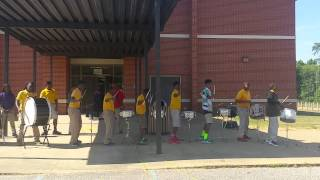 "Wildcat ""groove-a-thon"" drumline- make it funky"