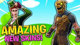 (NEW) FORTNITE OUTFITS OUT NOW! (St Patricks Day Battle Royale Skins)