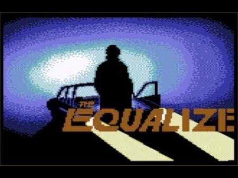 Lukozer Retro Game Review 351 - The Equalizer - Commodore 64