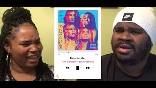 FIFTH HARMONY - MAKE YOU MAD - REACTION