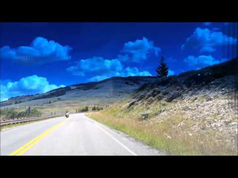 Aug 10 2015 driving through the Big Horn Mountains on WY hwy 14