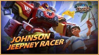 MOBILE LEGENDS : Bang Bang! - NEW Skin Jeepney Racer Gameplay Spotlight Trailer (2018) HD