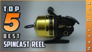 Top 5 Best Spincast Reel Review in 2021